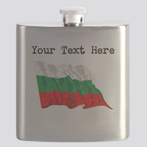 Bulgaria Flag (Distressed) Flask